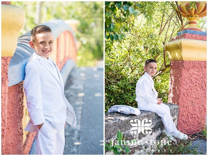 Noel First Communion | Miami Portrait Photographer | Janine Stone ...